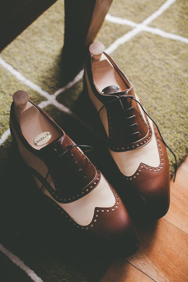 Barker Shoes Tan Brogues Groom Shoes | A South African Destination Wedding | Cherish Suzanne Neville Wedding Dress | Image by Illuminate Photography | http://www.rockmywedding.co.uk/cat-dan/