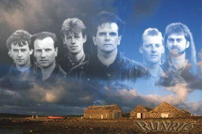 "Runrig: Scottish Gaelic rock band formed in Skye, in 1973. I will always love their spirited song ""Alba""."