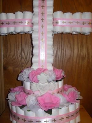 2 tier diaper cake instructions