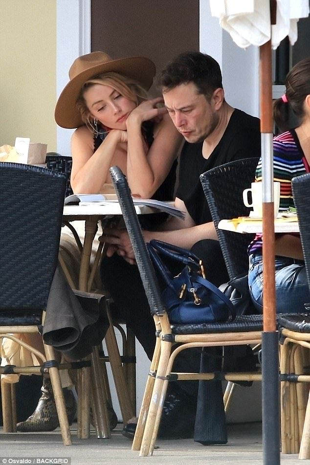 Exes Amber Heard And Elon Musk Are Definitely Not Back Together