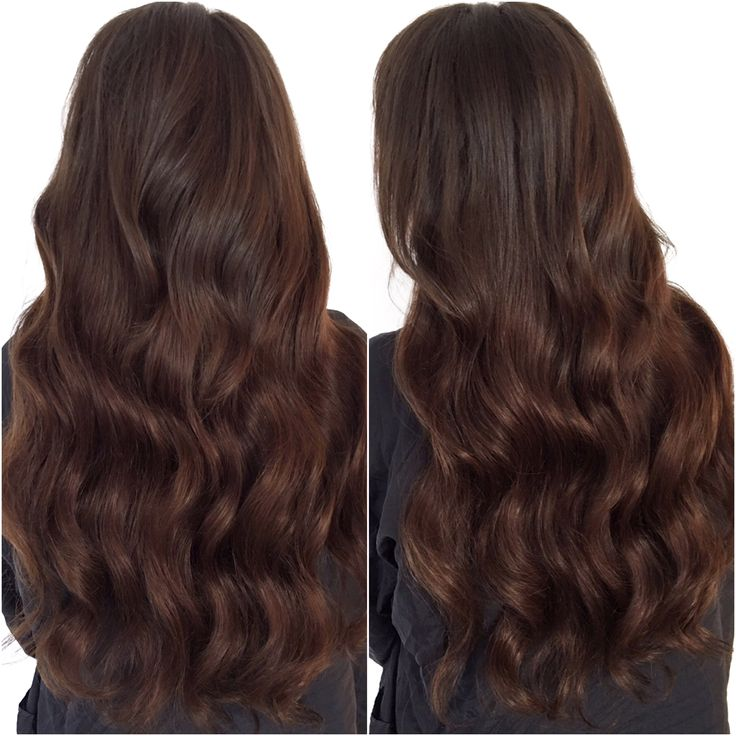 Tape Hair Extensions  #hairextensions #tapehair #tapeextensions #brunette #longhair #torontoextensions