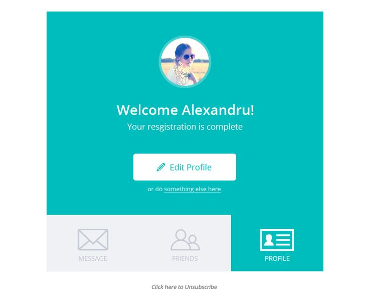 facebook welcome page templates - welcome minty stamplia builder welcome message email