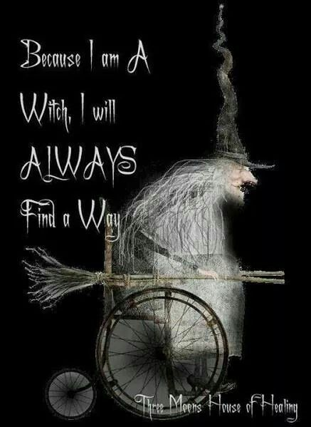 Because I Am A Witch!