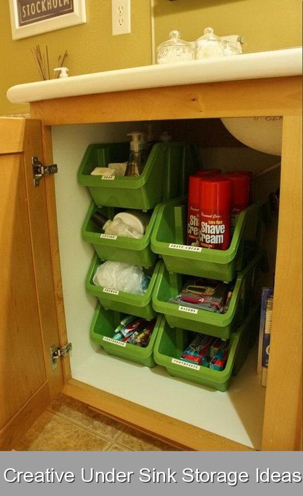37+ Under cabinet bathroom storage ideas diy