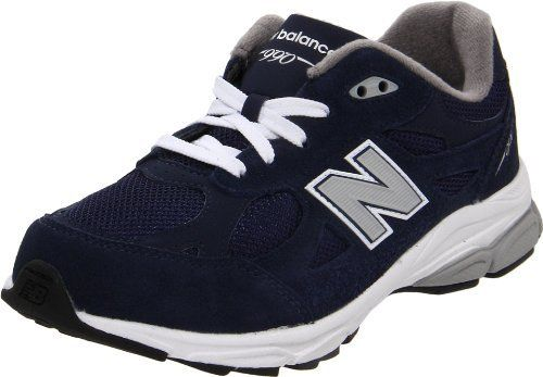 New Balance KJ990 Lace-Up Running Shoe (Little Kid/Big Kid) New Balance. $59.94. Abzorb heel. Injection molded ethylene vinyl acetate midsole. suede. Rubber sole. Reflective detail