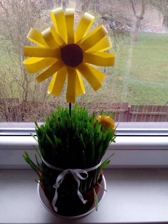 Papírové květiny - Testováno na dětech