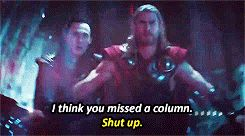 ARGUABLY THE BEST SCENE IN ALL OF THOR 2!!!! LOKI GOD OF SASS AT HIS FINEST! :)