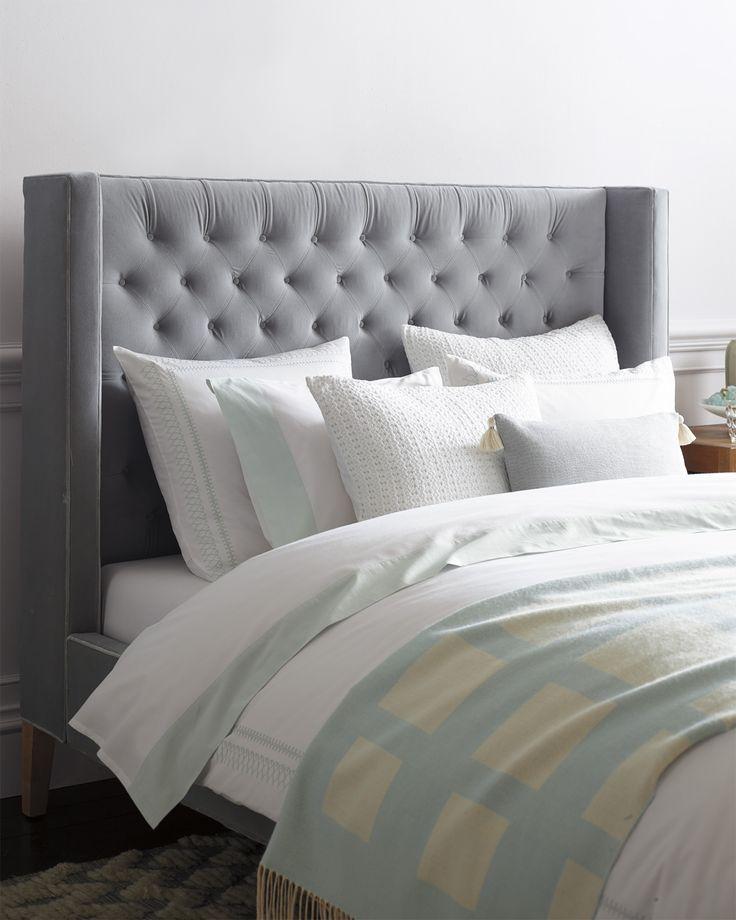 Clean Lines U0026 Cool Colors | Master Bedroom Via Serena U0026 Lily
