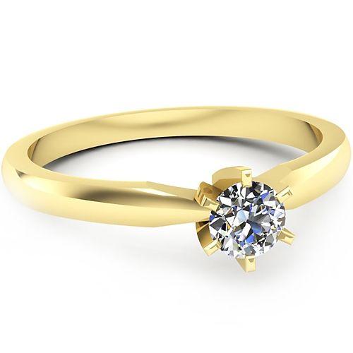Inel logodna L64GDI Inel cu diamant
