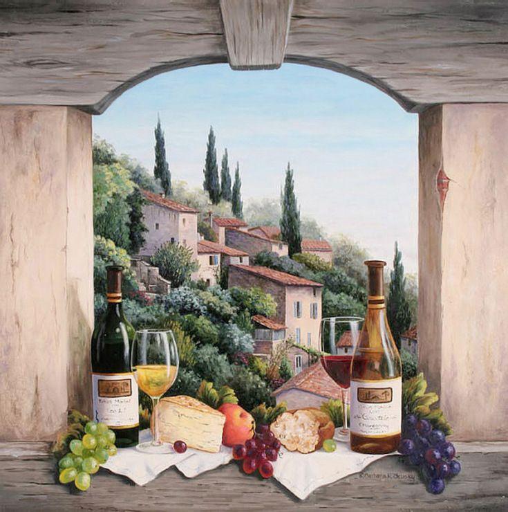 Постеры с италией-тоскана