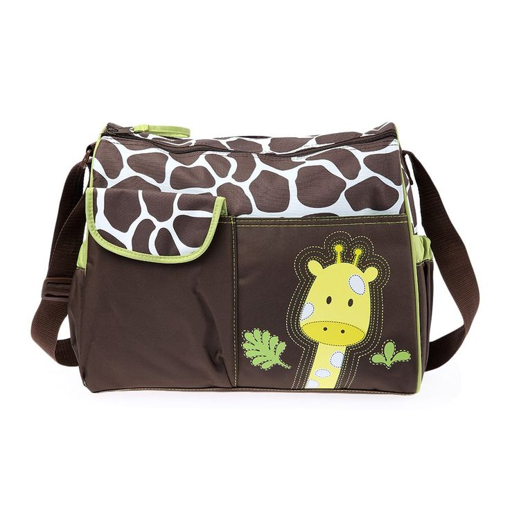 Nappy Change Bag With Super Cute Animal Print //Price: $25.45  //     #hashtag4