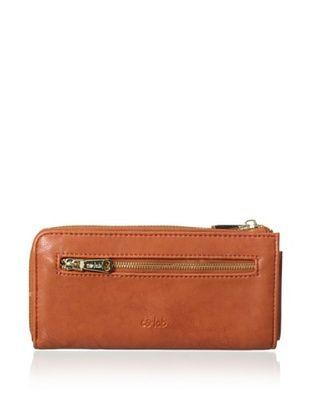 48% OFF co-lab by Christopher Kon Women's Pocket Wallet, Cognac