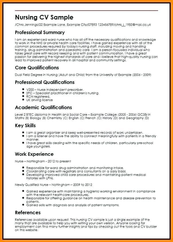 Work Experience High School Resume Examples The Hidden Agenda Of Work Experience High School Nursing Cv High School Resume Student Nurse Resume