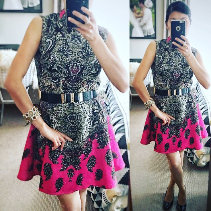 Baroque dress that I wore to a spring wedding. Bought it online and I'm pretty happy with it. #fashion #ootd #everydayfashion