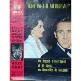 Point De Vue Images Du Monde N° 664 Du 03/03/1961 - Tony Va-T-Il Au Bureau ? Les Anglais S'interrogent Un An Apres Les Fiancailles De Margaret. Pouvez-Vous Enterrer Votre Chien Avec Vous.