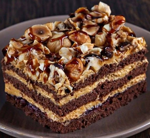 Шоколадный торт «Арабские сказки»   NashaKuhnia.Ru
