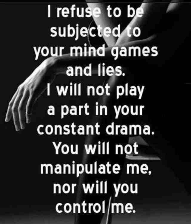 not playing your games quotes