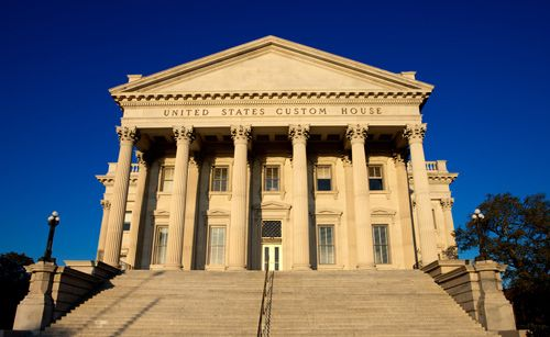 Located at 200 East Bay Street in historic downtown Charleston, the United States Custom House was completed in 1879 and is one of only several historical custom buildings that continues to serve its original purpose.