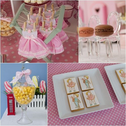 Idea de cumplea os para ni as birthday ideas for girls - Adornos de cumpleanos para nina ...