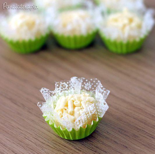 PANELATERAPIA - Blog de Culinária, Gastronomia e Receitas: Brigadeiro Gourmet de Limão