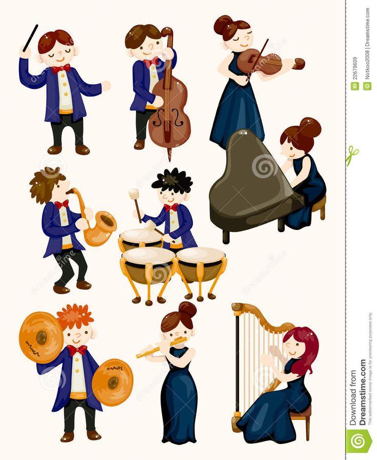 Orchestermusikspieler Lizenzfreie Stockbilder - Bild: 22679609