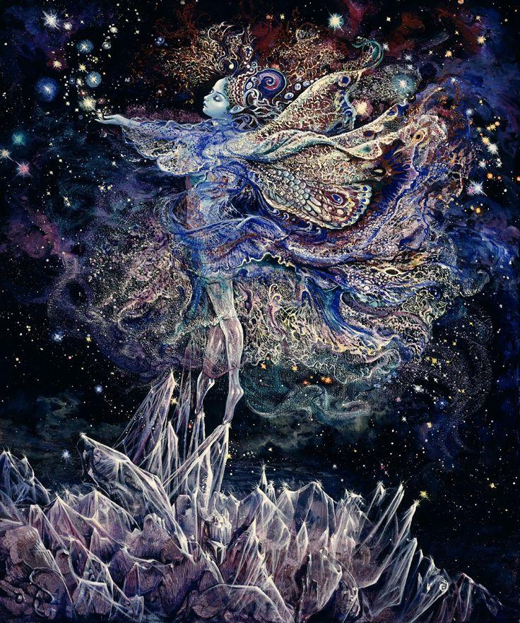 """""""Crystal Fairy 1"""" par Josephine Wall"""