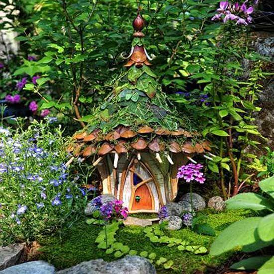 12 Fabulous Fairy Gardens, Minus The Creepy Fairy Figurines