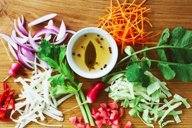 Japanese-style pickled vegetables