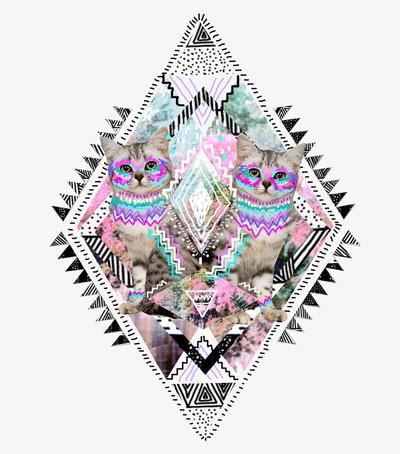Kris Tate cat illustration.