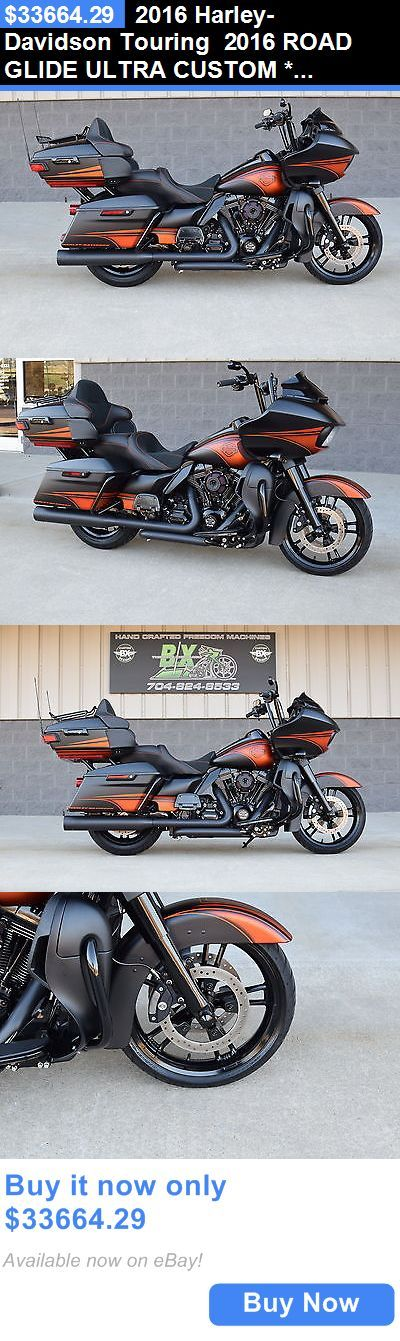 Motorcycles: 2016 Harley-Davidson Touring 2016 Road Glide Ultra Custom *1 Of A Kind* $16K In Xtras! Black Ops!! Must See! BUY IT NOW ONLY: $33664.29