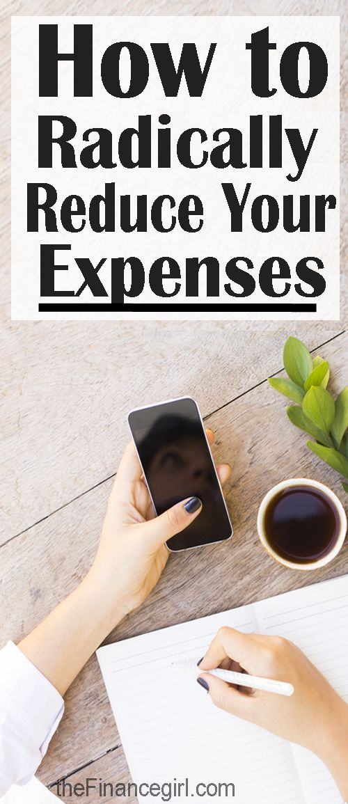 """How to reduce your expenses so you stay on your budget. """"31 Days to Radically Reduce Your Expenses challenge"""" is the best way I know to commit to no spending and save money. 