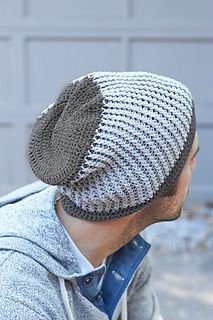 Crochet hat, free pattern