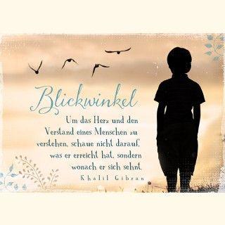 Postkarte - Blickwinkel