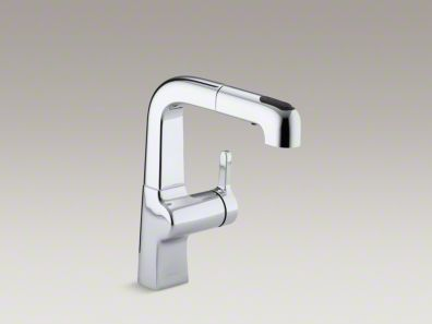 $647  - Kohler Evoke in chrome with pulll out spray
