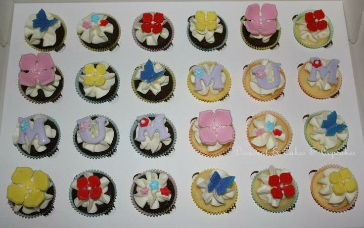 <3 Mini Mother's Day Cupcakes <3 Made By Decadent Cakes & Cupcakes