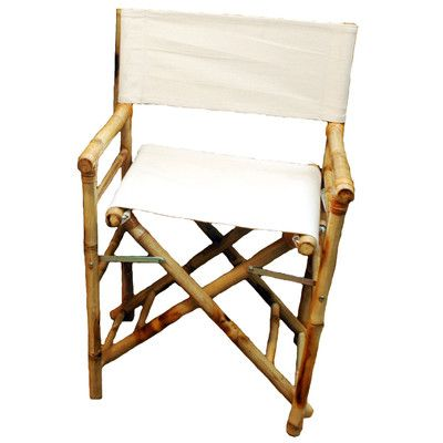bamboo54 low bamboo director chair u0026 reviews wayfair