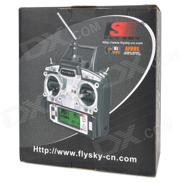 Flysky FS-T6 6-CH TX Transmitter + Radio Control System - Black
