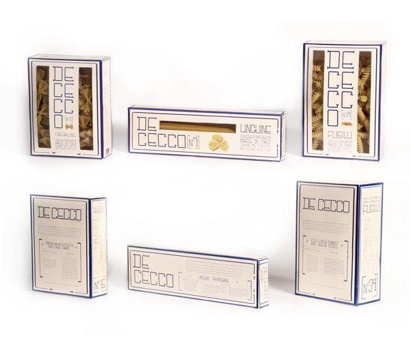DE CECCO pasta packaging