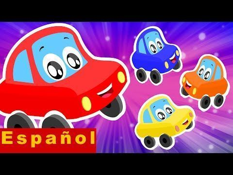 Poco coche rojo | Cinco pequeños bebés | Rimas para Niños – YouTube – #Bambas…