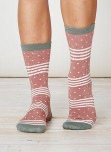 Catherine Bamboo Socks Terracotta