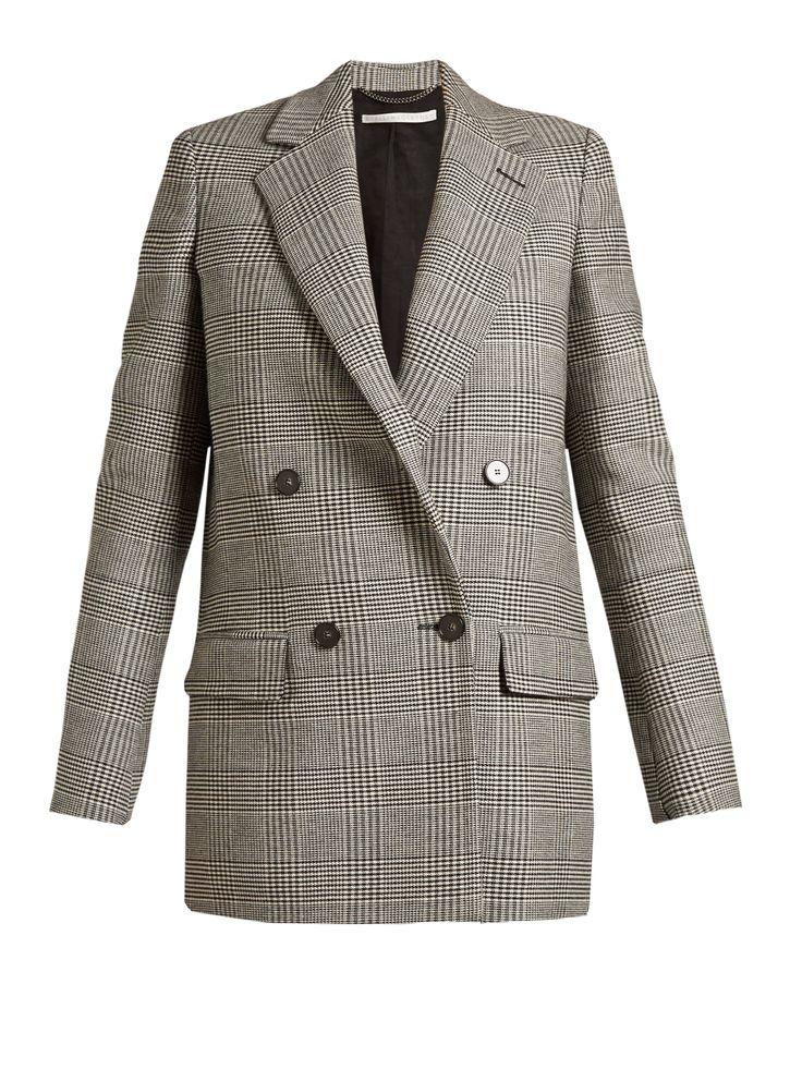 STELLA MCCARTNEY  Milly Prince of Wales-checked blazer