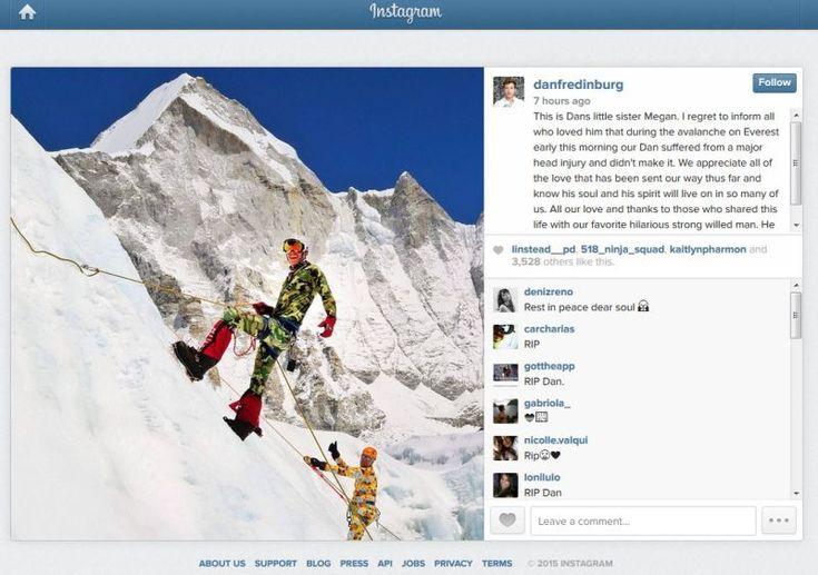 Eksekutif Google terbunuh dalam runtuhan Gunung Everest - http://malaysianreview.com/119861/eksekutif-google-terbunuh-dalam-runtuhan-gunung-everest/