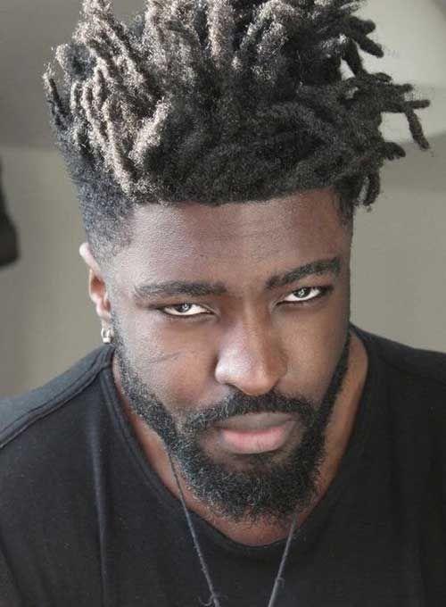 10.Coupe de cheveux pour les hommes Noirs
