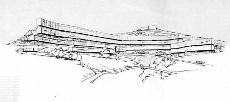 INA casa Forte Quezzi. L. C. Daneri e E. Fuselli. Genova, 1956-68
