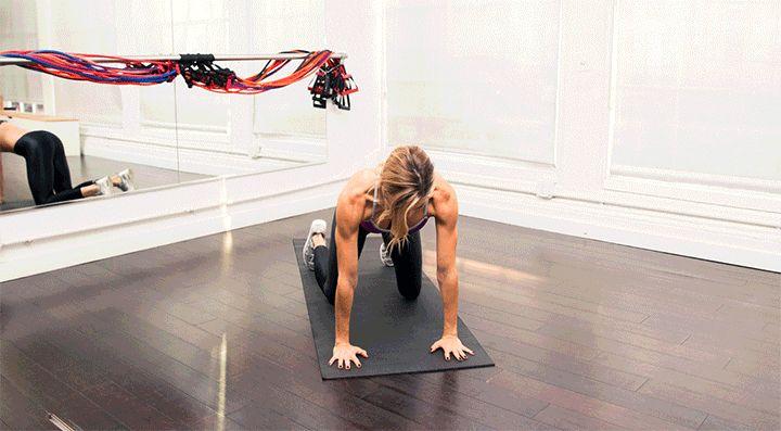 A Victoria's Secret model-approved arm workout: Thread the Needle | coveteur.com