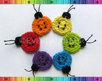 Muster-Crochet Fisch Applique-detaillierte Fotos von EverLaughter