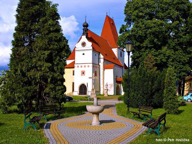 Horní Stropnice, náměstí