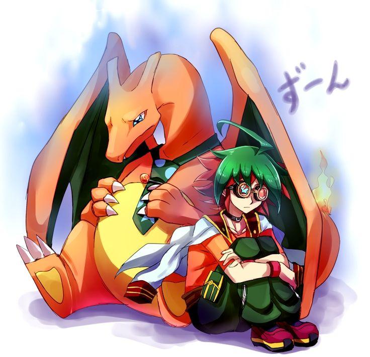 ZIN, Yu-Gi-Oh!, Yu-Gi-Oh! ARC-V, Pokémon, Charizard