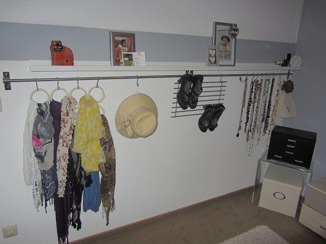 Aufbewahrung Schmuck Schal Sonnenbrillen Hüte Bilder Parfüm DIY Ikea  Accessories Bilderwand Wand Selber Machen Wohnen Dekorieren Einrichten  Möbel Regal