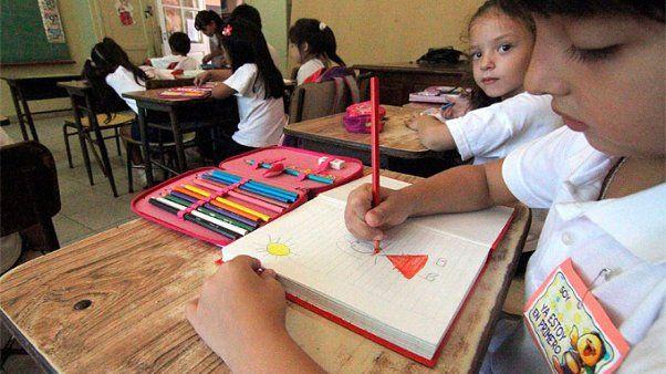 En la escuela primaria argentina no se repetirá primer grado